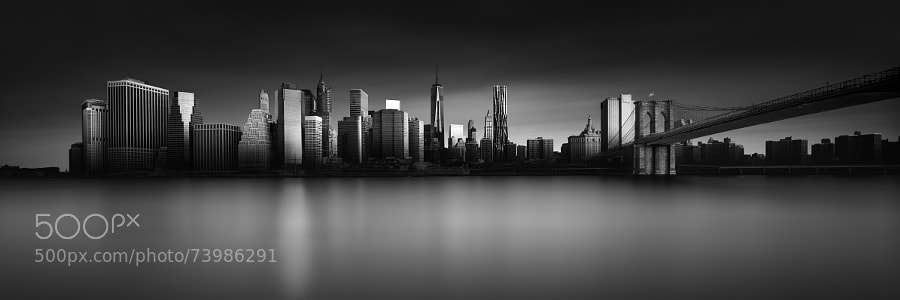 Photograph Visual Acoustics VIII - Silence and Light - New York City Sunrise by Joel (Julius) Tjintjelaar on 500px
