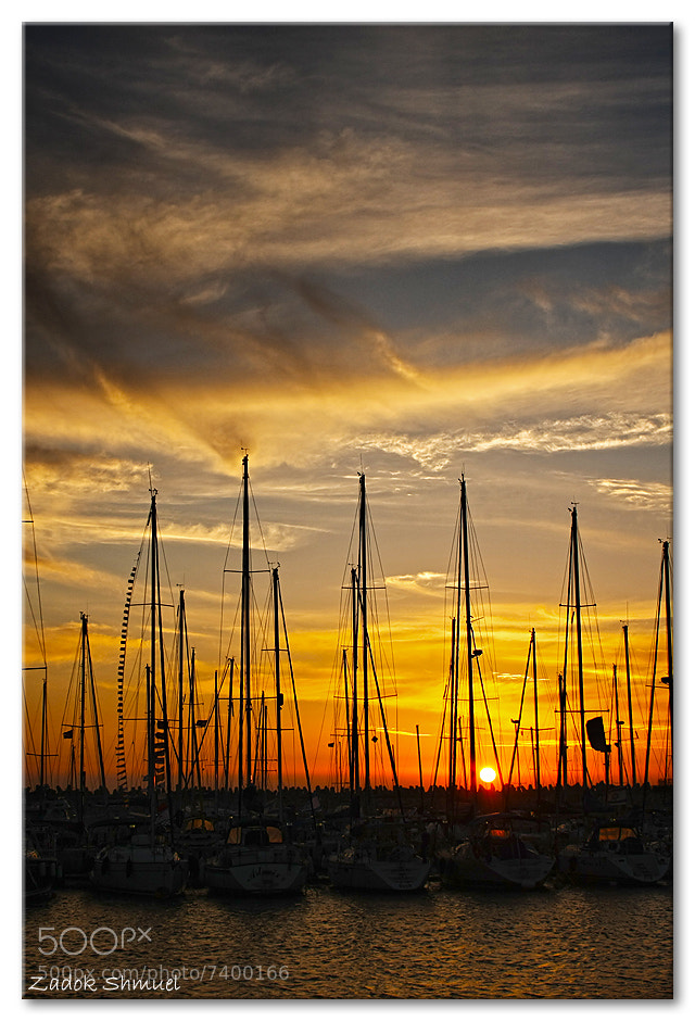 Photograph Ashdod Marina at sunset.. by Zadok Shmuel on 500px