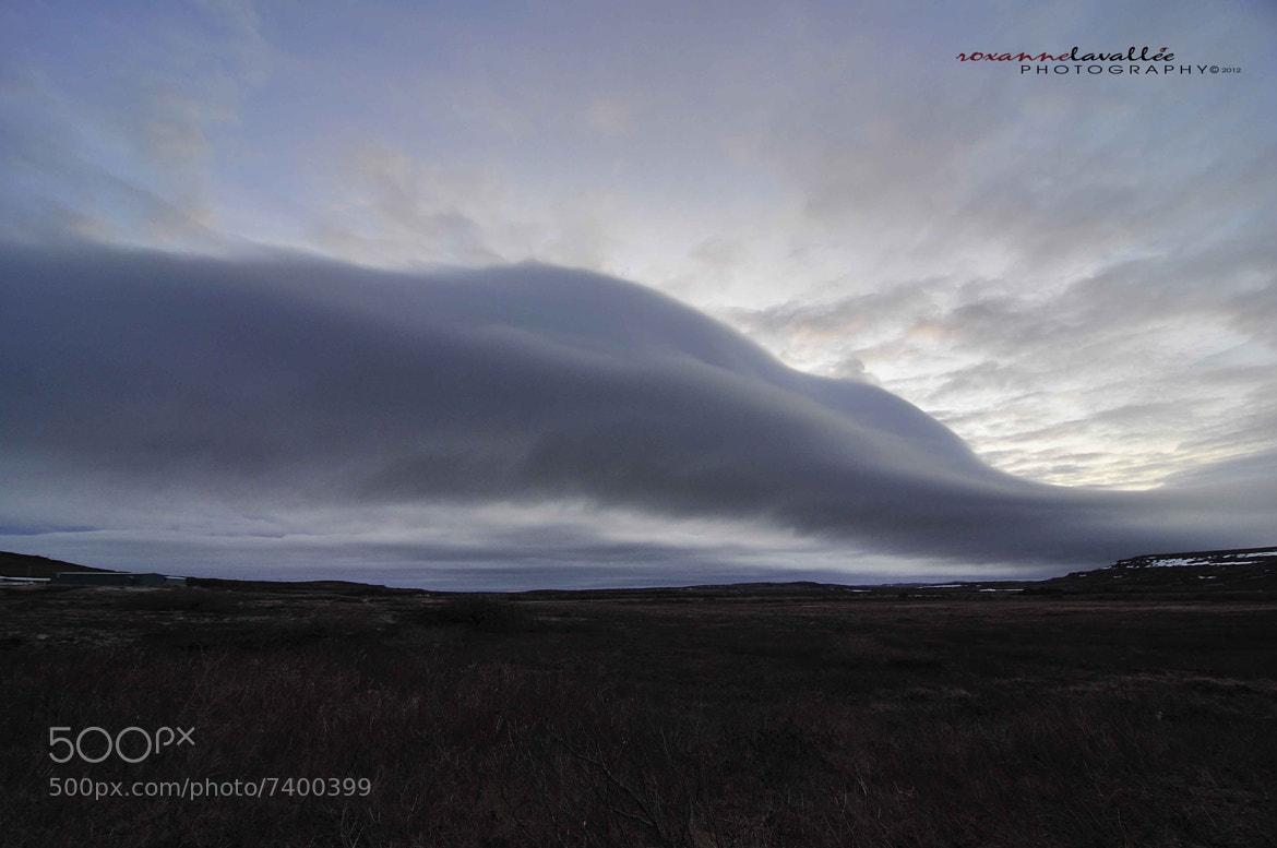 Photograph Giant cloud Over Blanc Sablon River by Roxanne Lavallee Photography on 500px