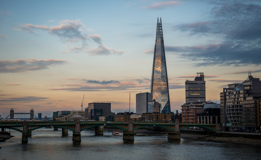 Photograph Shard of London by Brandon Donnelly on 500px