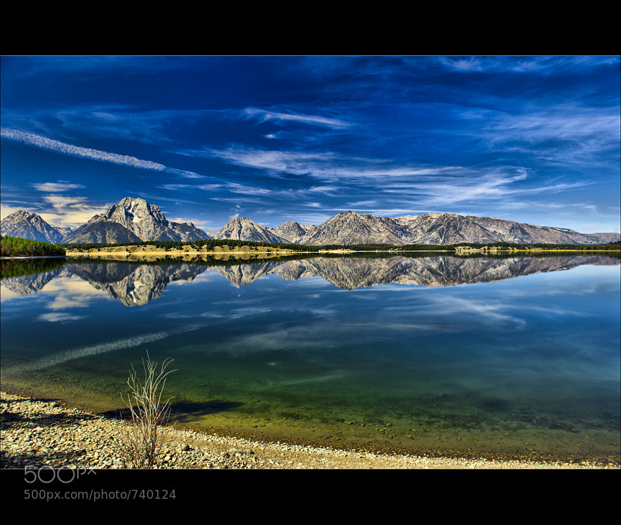 Photograph Jackson Lake Reflection by Wil Bloodworth on 500px