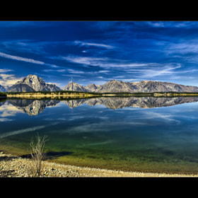 Jackson Lake Reflection by Wil Bloodworth (WilBloodworth)) on 500px.com