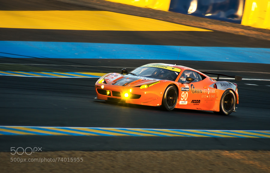 Photograph 24H00 du Mans - Ferrari 8 Star Motorsports by Cyril Fontaine on 500px