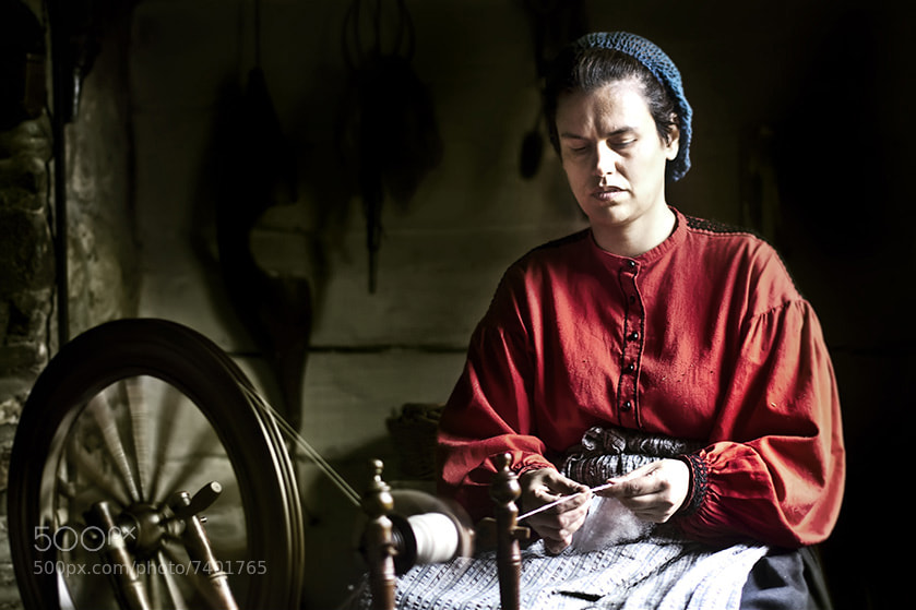 Photograph wool spinner woman by ömer göçmenler on 500px