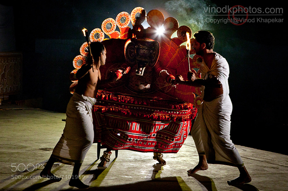 Photograph Folk Dance- Theyyam by Vinod Khapekar on 500px