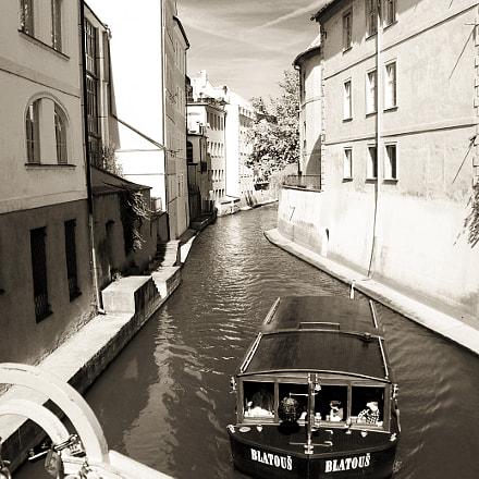 Venice? Amsterdam? No, Prague