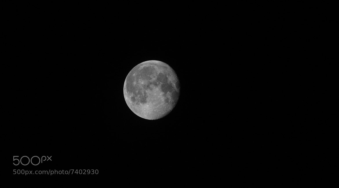 Photograph Moon (May 2012) by Adrian Kraszewski on 500px