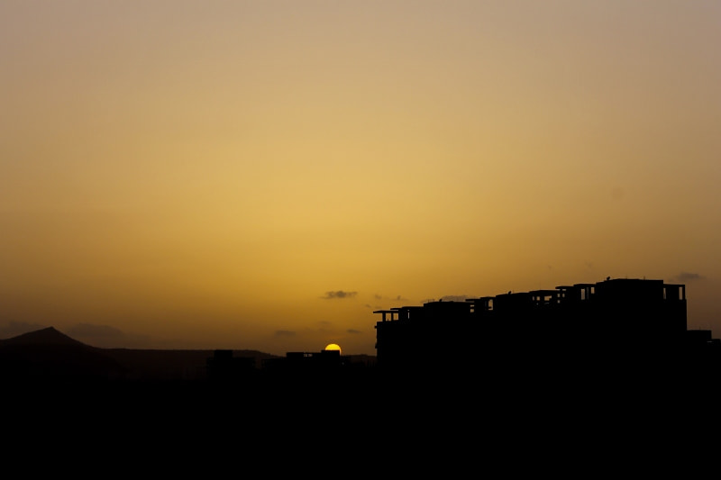 Photograph when the sun goes home by ARITRA SEN on 500px