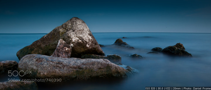 Photograph Rocks and Still waves by Daniel  Frome on 500px