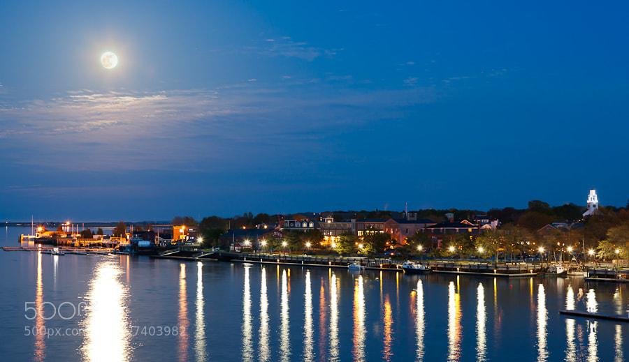 Photograph Super Moon III, Newburyport, Massachusetts. by Stanton Champion on 500px