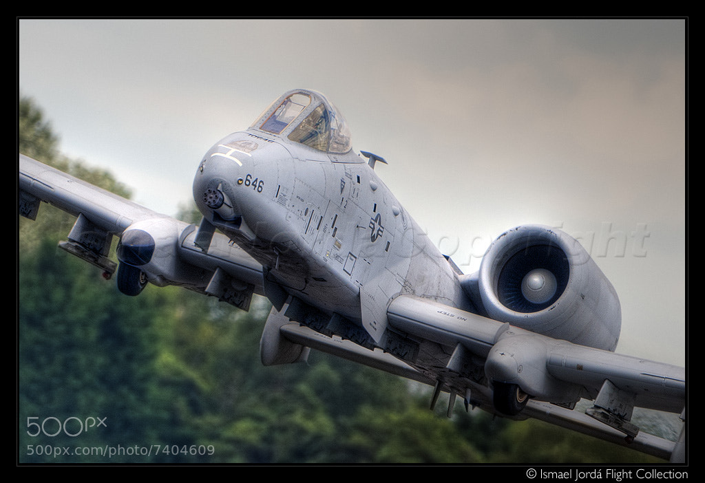 Photograph Warthog @ RIAT (2011) by Ismael Jordá on 500px