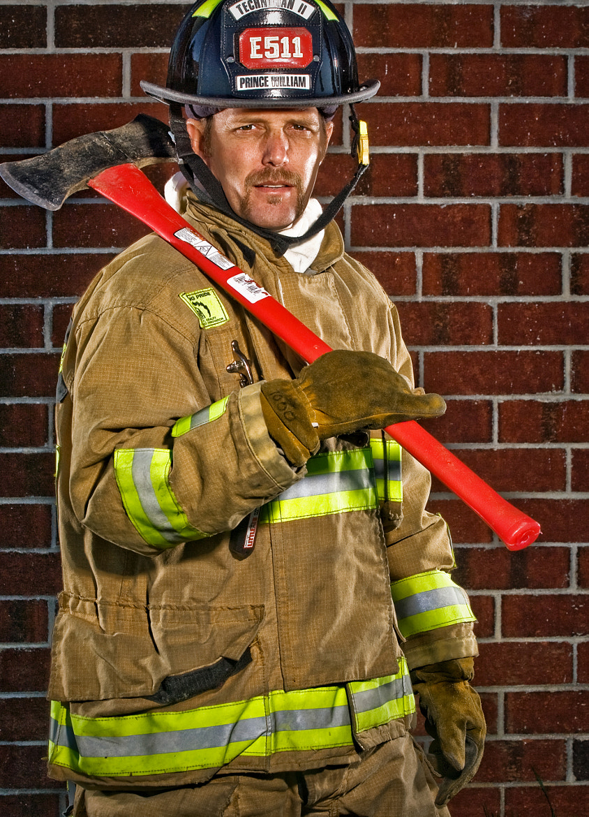 Photograph Fire Fighter II by Greg Holland on 500px