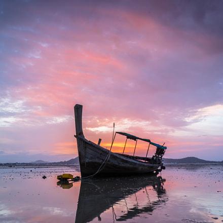 Alone Boat . . .