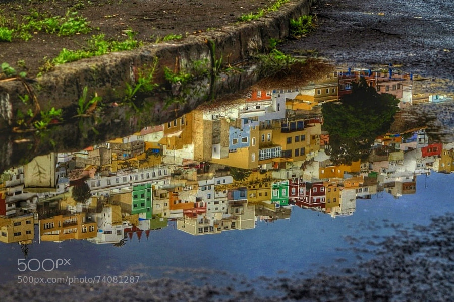 Photograph Neighborhood reflection by Tony Hernández on 500px