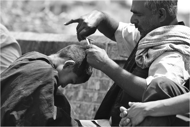 Photograph Haircut outside by Charlotte Vilrik on 500px