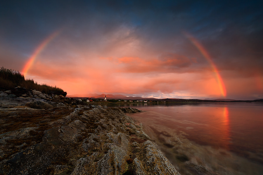 Photograph Evenskjer Rainbow by Arild Heitmann on 500px