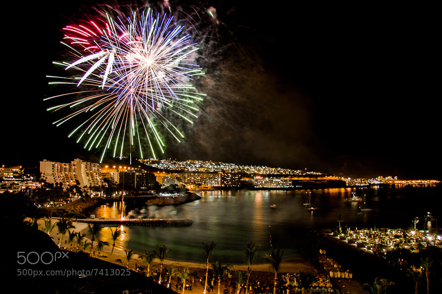 Photograph Fireworks by Peter Haukås Nejtek on 500px