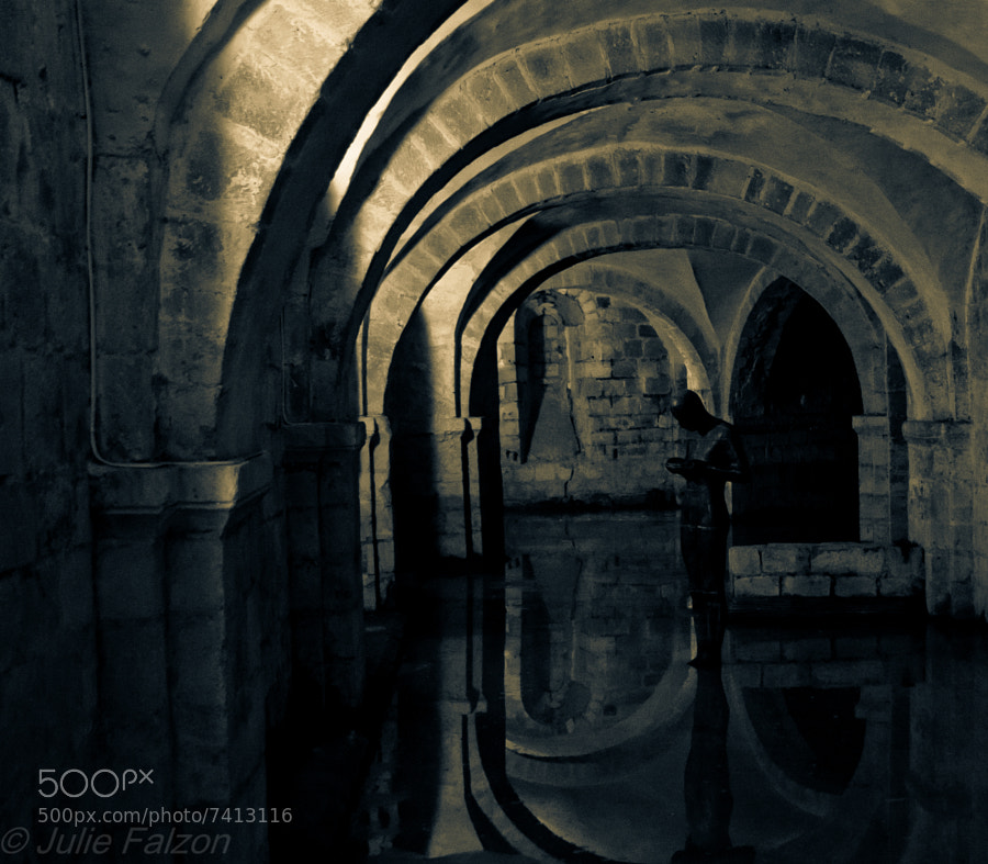 The Crypt in Winchester Cathedral. Unfortunately the Crypt was flooded recently and I was only able to take photos from the platform at the entrance. Beautiful cathedral, i'd recommend anyone to visit it !!!