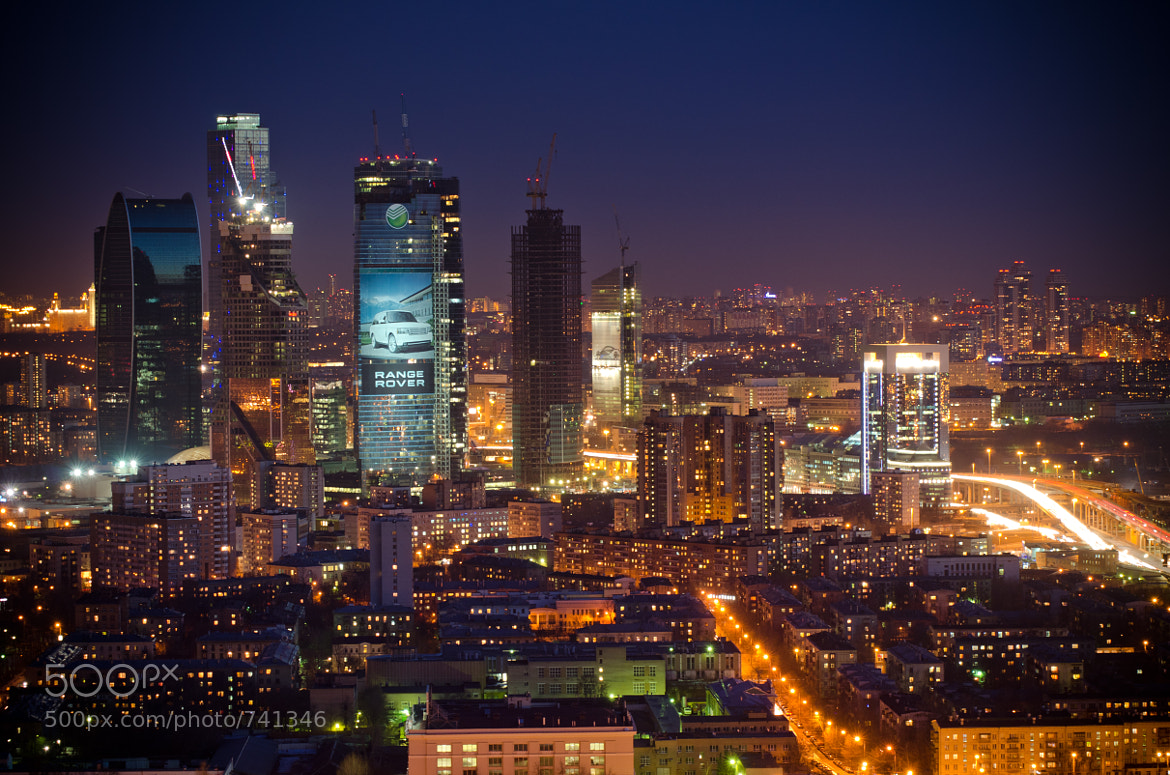 Photograph Night Moscow by Maxim Kashin on 500px