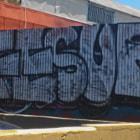 Graffiti in Reseda, California.