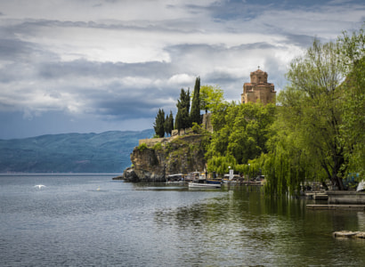Kaneo Church Ohrid by Petar Boskovski