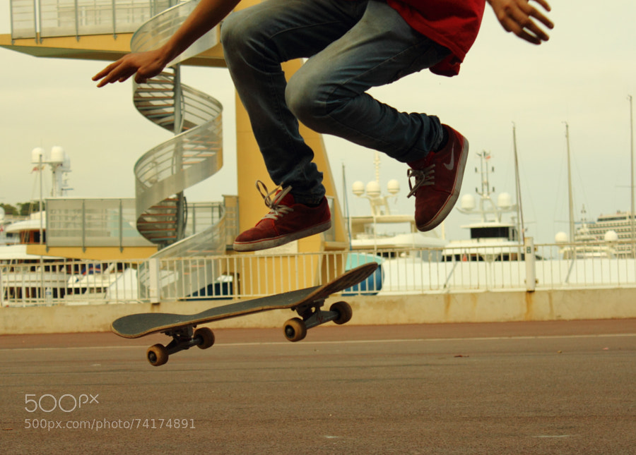 Skating in the French Riviera by danieljnewcomer