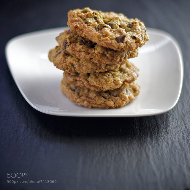 Photograph Oatmeal Chocolate Chip Cookies by Edward Sargent on 500px