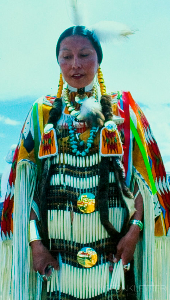 Photograph American Indian Princess ,Montana ,New York Times Travel by Winston Kletter on 500px