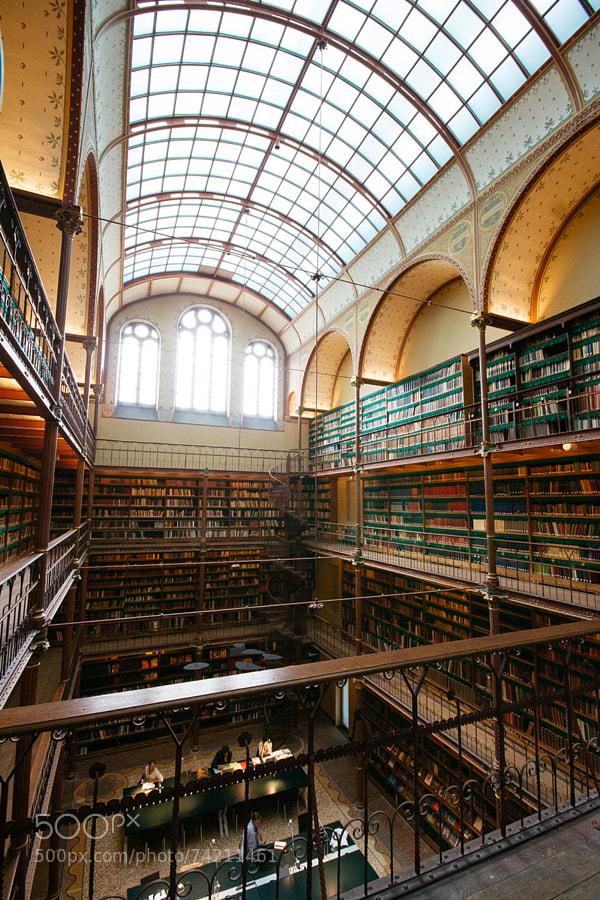 Photograph Rijksmuseum Library