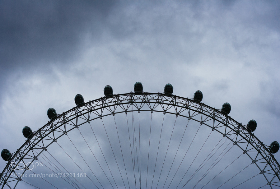London Eye (color) by Pam Culver on 500px