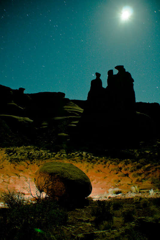 Photograph Three Gossips, Arches NP by Wayne Dahlberg on 500px