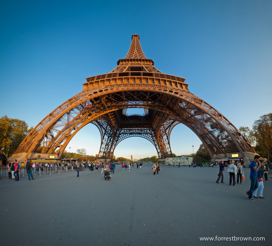 Photograph Eiffel Panorama by Forrest Brown on 500px