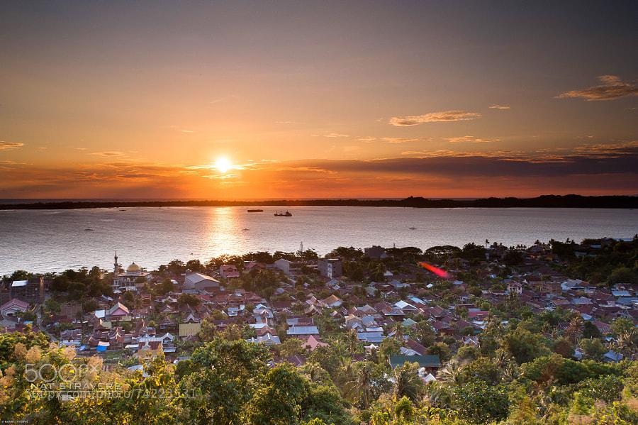 Sunset from Kenari Bukit Indah Hotel