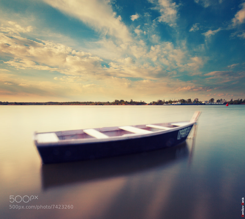 Photograph Boat by Denis Demkov on 500px