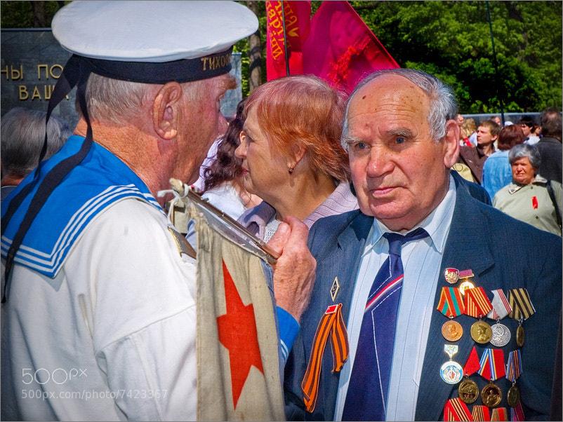 Photograph Glory! Veterans of World War II! by Sergei Bandura on 500px