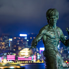 Постер, плакат: Bruce Lee in Victoria Harbour