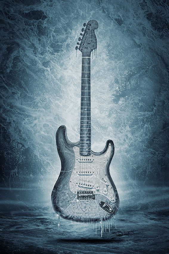 Photograph Frozen Strat by Ralf Mack on 500px