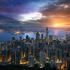 A Golden Hong Kong Morning