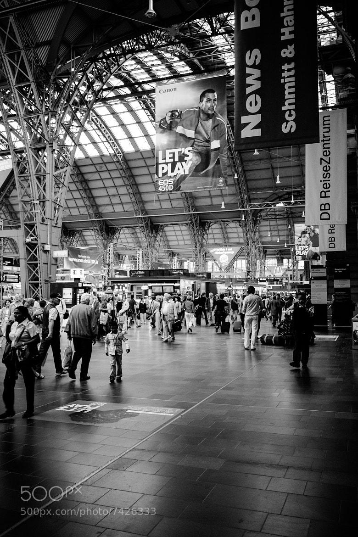 Photograph Frankfurt Hbf 002 by Igor Klajo on 500px