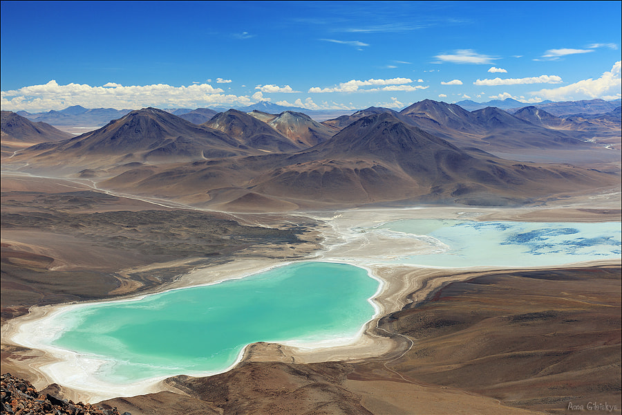 LagunaVerde and Blanca. by Anna Gibiskys on 500px.com