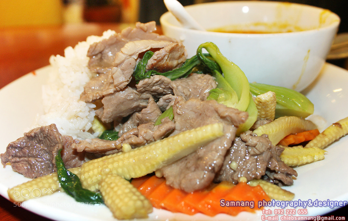 Photograph My food eat at ICT-expo event0 by samnang chieb on 500px