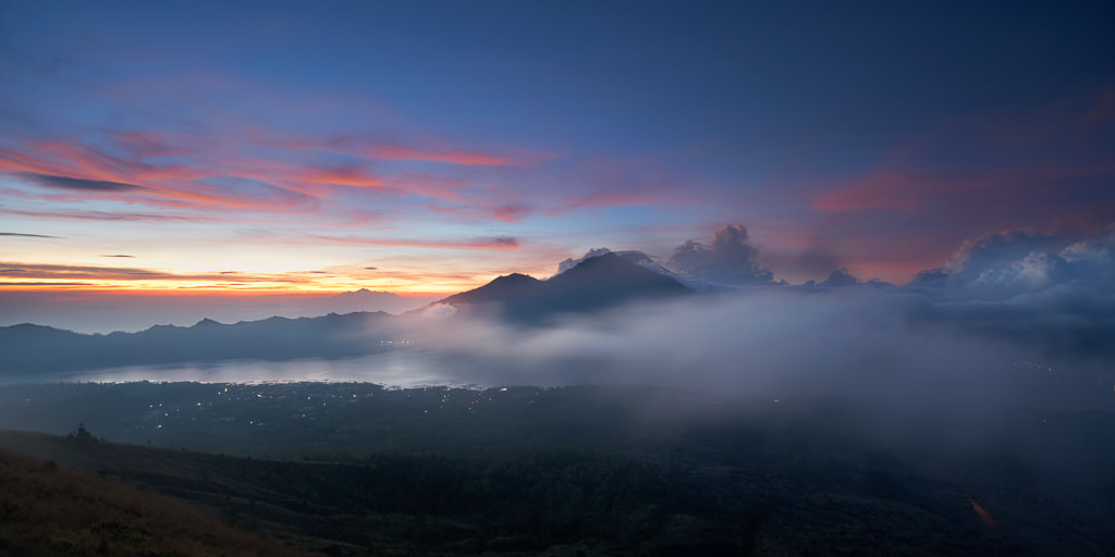 Photograph Mount Batur at dawn by Son Nguyen on 500px
