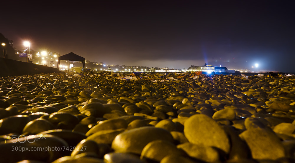 Photograph Beach At Night by Mike Joints on 500px