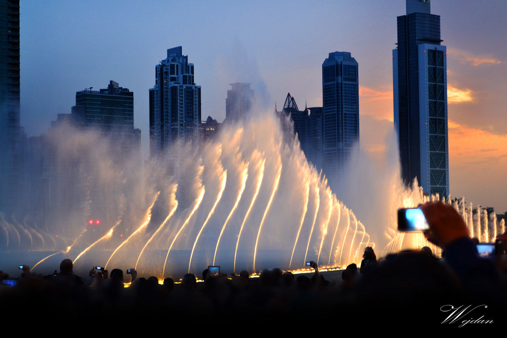 Photograph Dubai Fountain by Wejdan AL Dossary on 500px