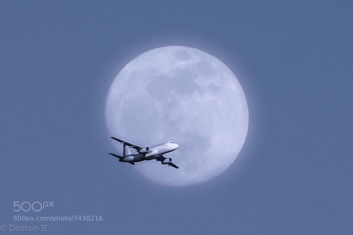 Photograph Fly me to the supermoon by Doctor-K  on 500px