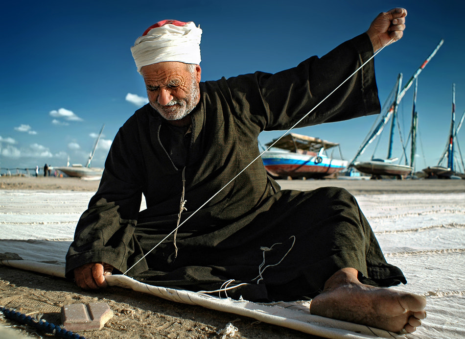 Photograph Sail Maker by Sayed Abd Algalil on 500px