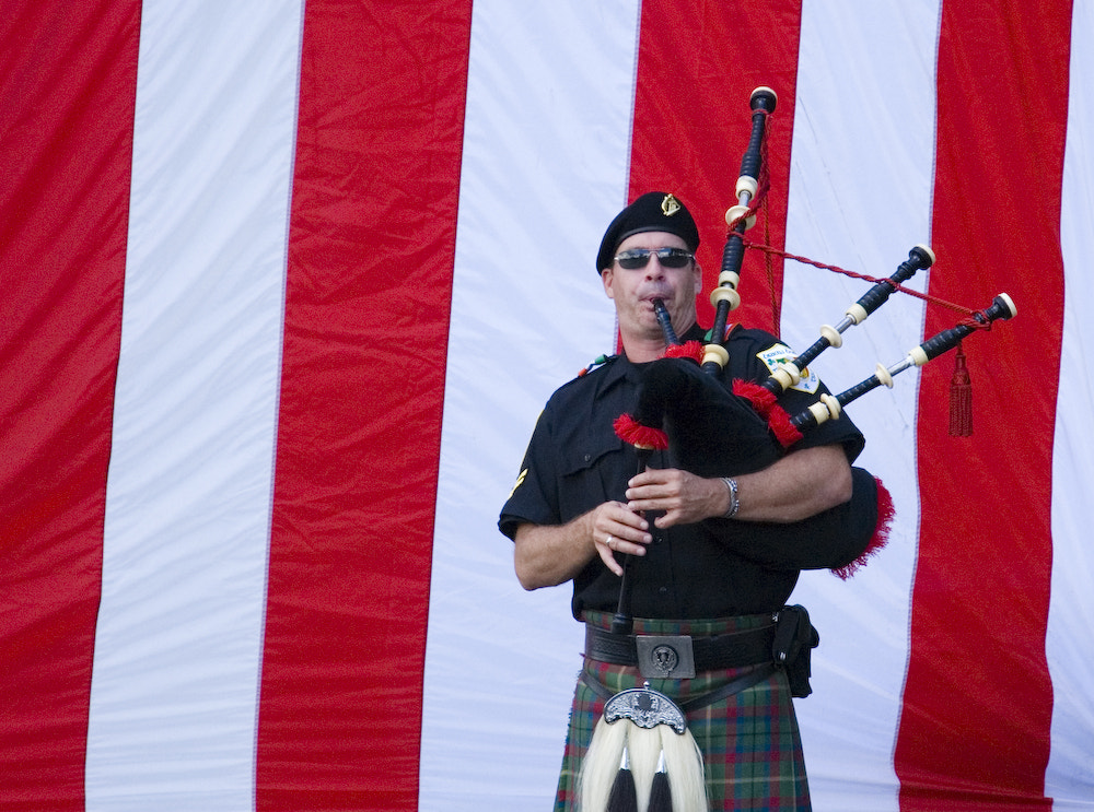 Photograph Bagpipes for the Fallen by Lee Shelly on 500px