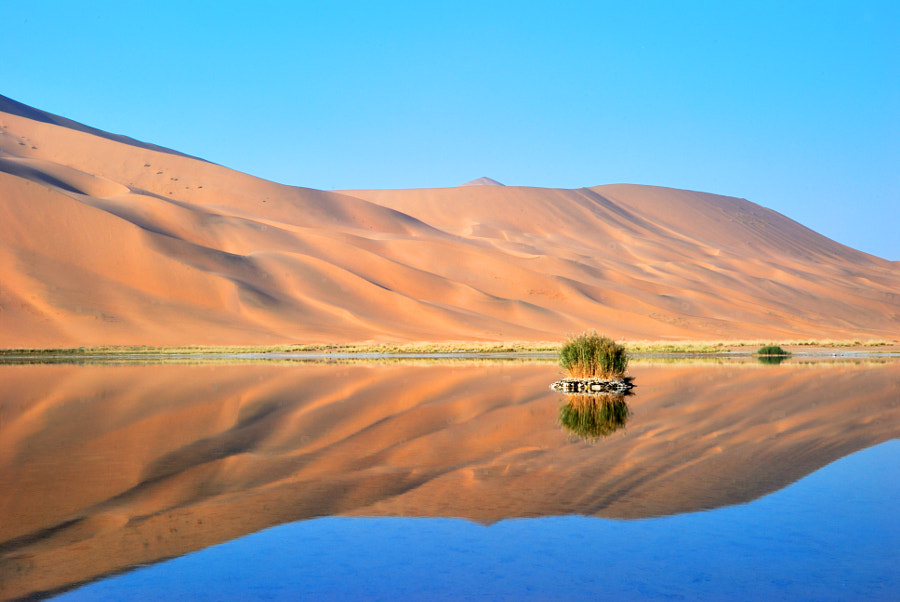 Photograph Badain Jaran Desert by Joyee Zhou on 500px