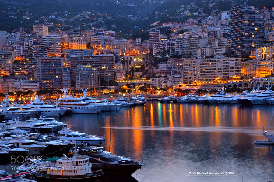 Shining Monaco by subhapattnaik