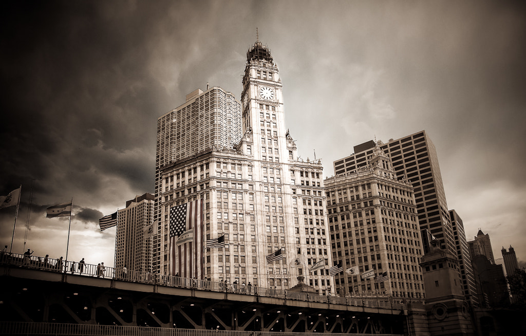Photograph Wrigley Building, Chicago by Dennis Rogers on 500px